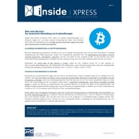 Bitte mehr Bitcoins? Zur steuerlichen Behandlung von Kryptowährungen